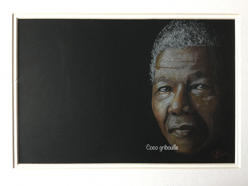 Nelson Mandela by Coco66